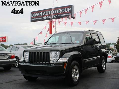 2011 Jeep Liberty for sale at Divan Auto Group in Feasterville PA