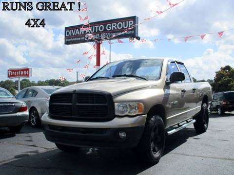 2004 Dodge Ram Pickup 1500 for sale at Divan Auto Group in Feasterville PA