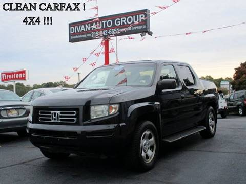 2006 Honda Ridgeline for sale at Divan Auto Group in Feasterville PA