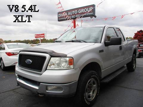 2004 Ford F-150 for sale at Divan Auto Group in Feasterville PA