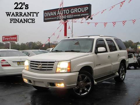 2005 Cadillac Escalade for sale at Divan Auto Group in Feasterville PA