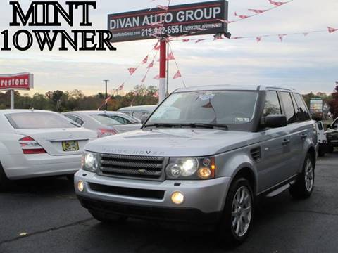2009 Land Rover Range Rover Sport for sale at Divan Auto Group in Feasterville PA