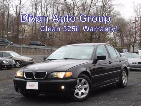 2002 BMW 3 Series for sale at Divan Auto Group in Feasterville PA