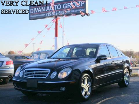 2006 Mercedes-Benz E-Class for sale at Divan Auto Group in Feasterville PA