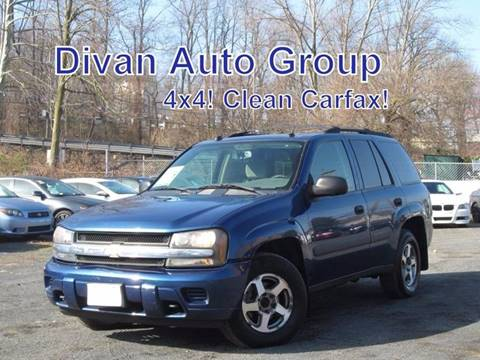 2005 Chevrolet TrailBlazer for sale at Divan Auto Group in Feasterville PA