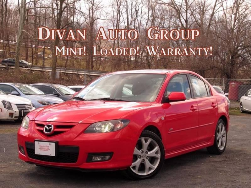 2007 Mazda MAZDA3 for sale at Divan Auto Group in Feasterville Trevose PA