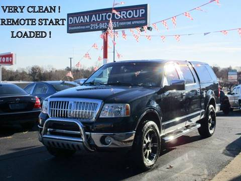 2007 Lincoln Mark LT for sale at Divan Auto Group in Feasterville PA
