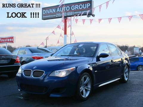 2006 BMW M5 for sale at Divan Auto Group in Feasterville PA