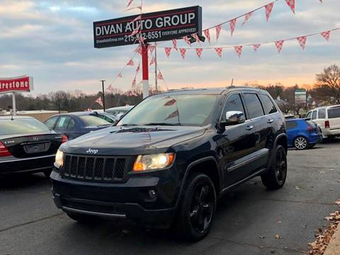 2012 Jeep Grand Cherokee for sale at Divan Auto Group in Feasterville PA