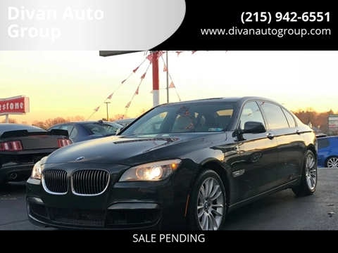 2012 BMW 7 Series for sale at Divan Auto Group in Feasterville PA