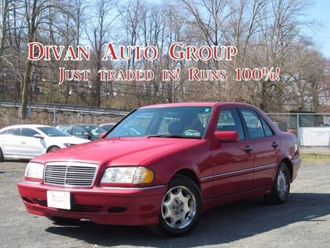 1998 Mercedes-Benz C-Class for sale at Divan Auto Group in Feasterville PA