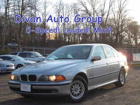 1997 BMW 5 Series for sale at Divan Auto Group in Feasterville PA