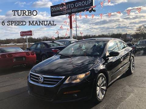 2010 Volkswagen CC for sale at Divan Auto Group in Feasterville PA