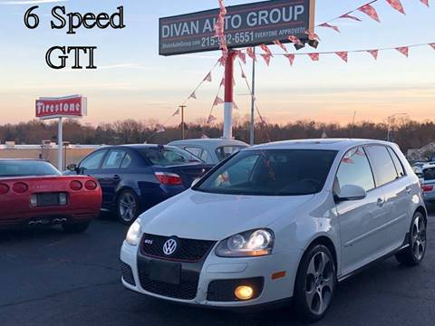 2007 Volkswagen GTI for sale at Divan Auto Group in Feasterville PA