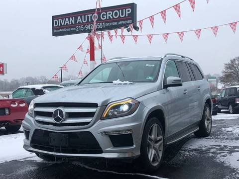 2013 Mercedes-Benz GL-Class for sale at Divan Auto Group in Feasterville PA