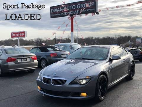 2009 BMW 6 Series for sale at Divan Auto Group in Feasterville PA