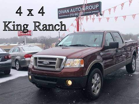 2006 Ford F-150 for sale at Divan Auto Group in Feasterville PA