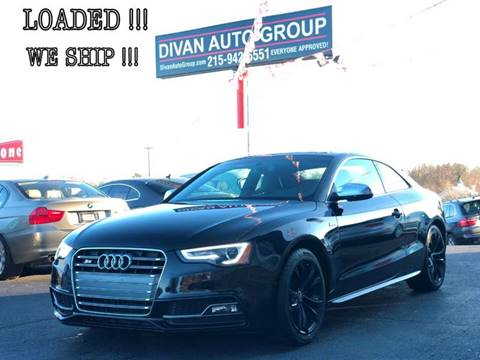 2014 Audi S5 for sale at Divan Auto Group in Feasterville PA