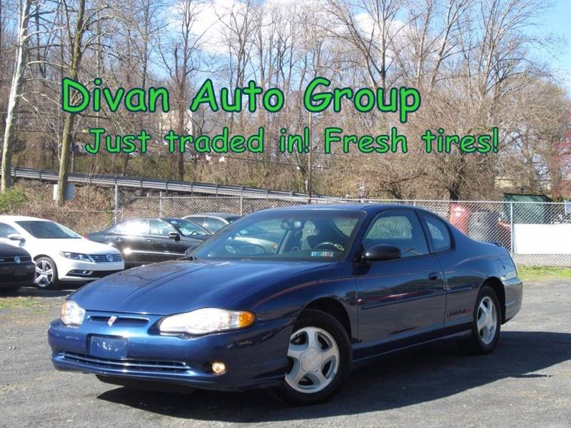 2003 Chevrolet Monte Carlo Ss 2dr Coupe In Feasterville Pa Divan