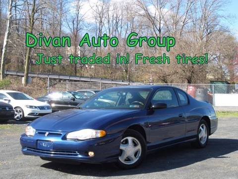 2003 Chevrolet Monte Carlo for sale at Divan Auto Group in Feasterville PA