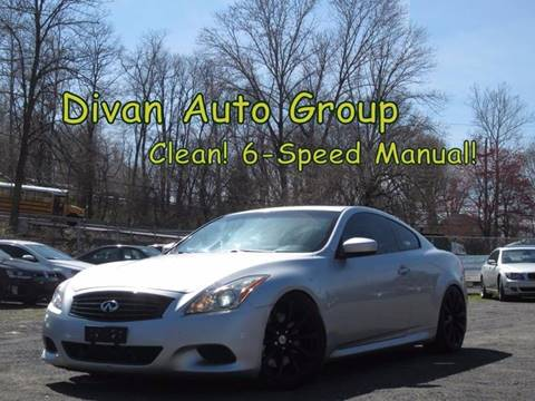 2008 Infiniti G37 for sale at Divan Auto Group in Feasterville PA