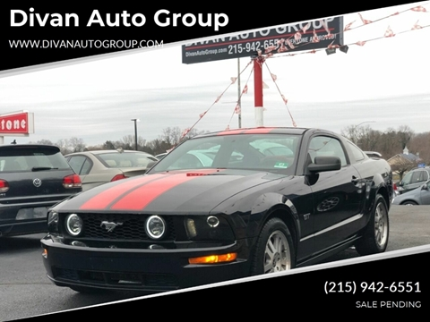 2006 Ford Mustang for sale at Divan Auto Group in Feasterville PA