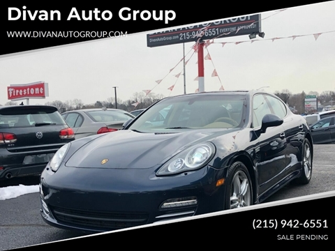 2011 Porsche Panamera for sale at Divan Auto Group in Feasterville PA