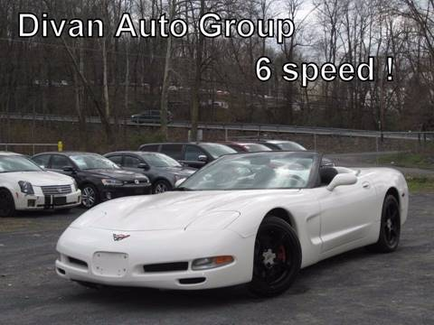 2002 Chevrolet Corvette for sale at Divan Auto Group in Feasterville PA