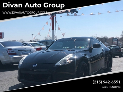 2009 Nissan 370Z for sale at Divan Auto Group in Feasterville PA