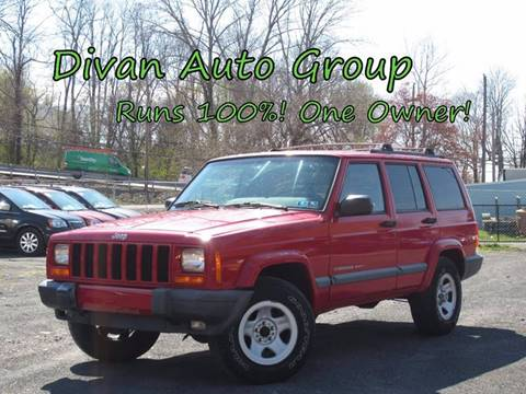 2000 Jeep Cherokee for sale at Divan Auto Group in Feasterville PA
