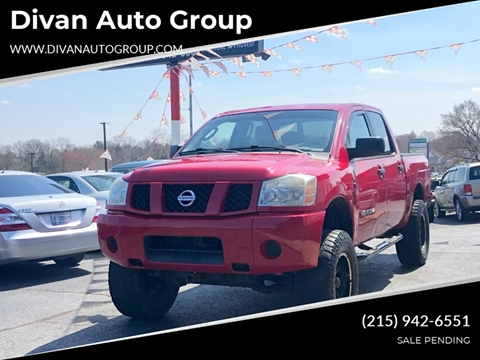 2006 Nissan Titan for sale at Divan Auto Group in Feasterville PA