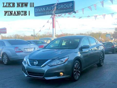 2018 Nissan Altima for sale at Divan Auto Group in Feasterville PA