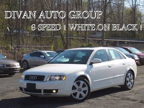 2005 Audi A4 for sale at Divan Auto Group in Feasterville PA