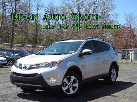 2014 Toyota RAV4 for sale at Divan Auto Group in Feasterville PA