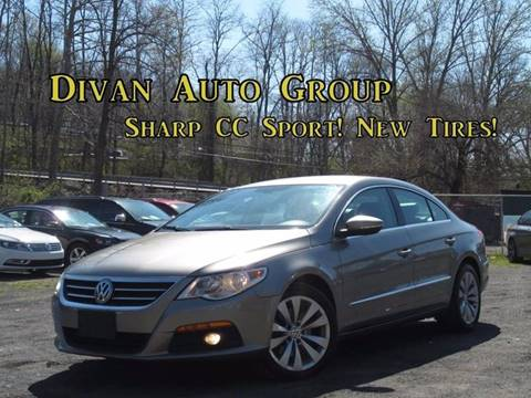 2009 Volkswagen CC for sale at Divan Auto Group in Feasterville PA