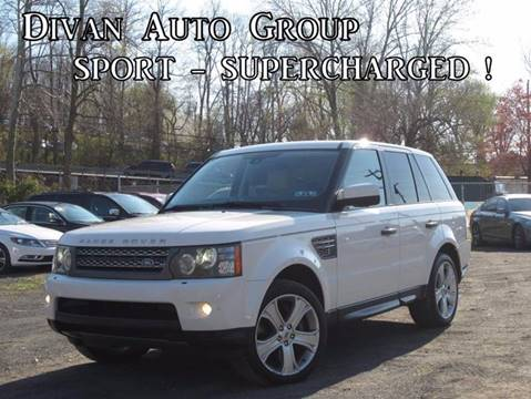 2010 Land Rover Range Rover Sport for sale at Divan Auto Group in Feasterville PA