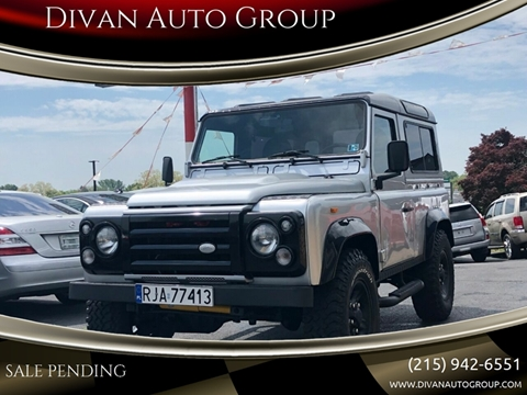 1986 Land Rover Defender for sale at Divan Auto Group in Feasterville PA