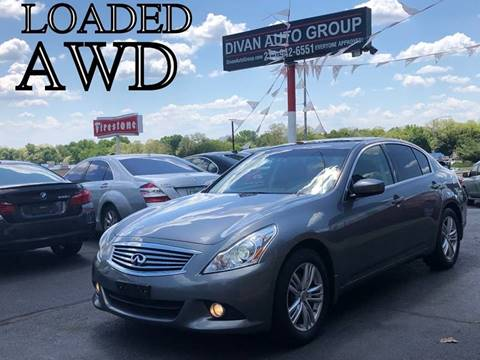 2013 Infiniti G37 Sedan for sale at Divan Auto Group in Feasterville PA