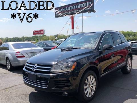 2012 Volkswagen Touareg for sale at Divan Auto Group in Feasterville PA