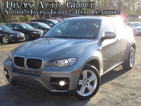 2011 BMW X6 for sale at Divan Auto Group in Feasterville PA