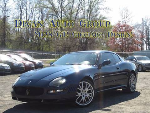 2005 Maserati Coupe for sale at Divan Auto Group in Feasterville PA