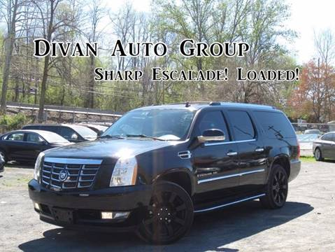 2008 Cadillac Escalade ESV for sale at Divan Auto Group in Feasterville PA