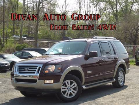 2006 Ford Explorer for sale at Divan Auto Group in Feasterville PA