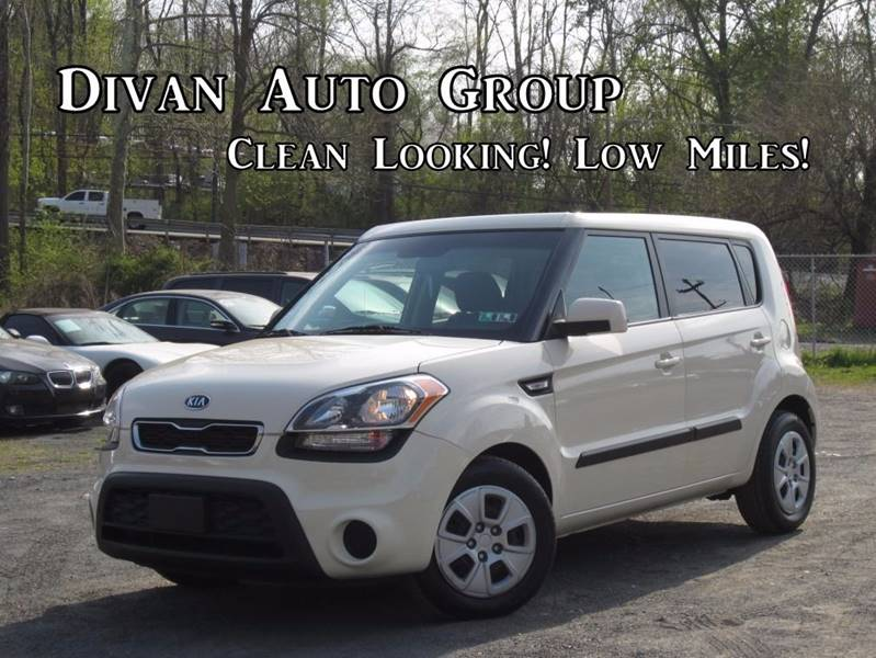 2012 Kia Soul for sale at Divan Auto Group in Feasterville PA