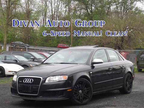 2008 Audi S4 for sale at Divan Auto Group in Feasterville Trevose PA