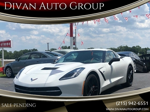 2015 Chevrolet Corvette for sale at Divan Auto Group in Feasterville PA