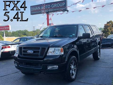 2005 Ford F150 Fx4 >> Used 2005 Ford F 150 For Sale Carsforsale Com