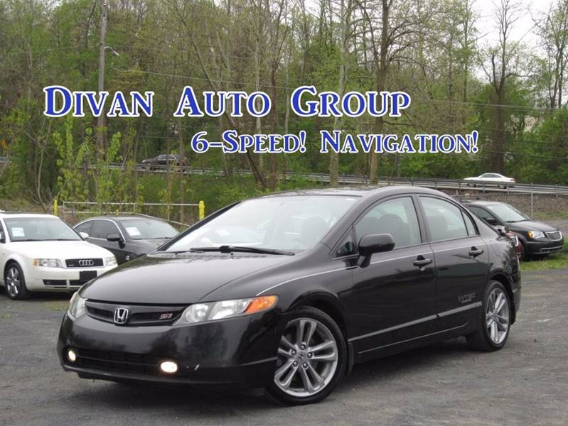 2008 Honda Civic Si w/Navi 4dr Sedan 6M w/Navi In Feasterville PA ...