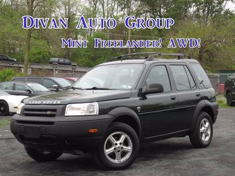 2002 Land Rover Freelander for sale at Divan Auto Group in Feasterville PA