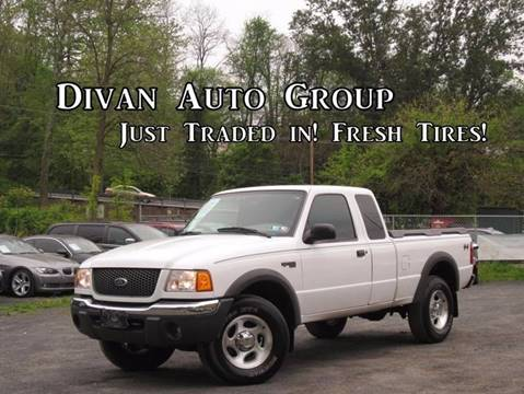 2001 Ford Ranger for sale at Divan Auto Group in Feasterville PA
